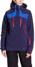 Bergans Oppdal Ins Lady Jacket Navy / Cobalt Blue / Red