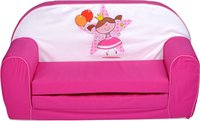 Knorr Kindersofa Princess ballon pink