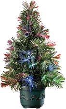 Lunartec LED-Weihnachtsbaum Glasfaser-Farbwechsler