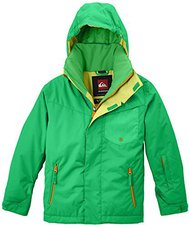 Quiksilver Mission Plain Youth Jkt Poison Green