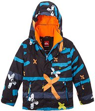 Quiksilver Mission Printed Youth Jkt Caviar-Plaid_2