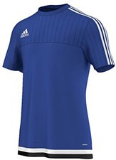 Adidas Tiro 15 Trainingstrikot Herren kurzarm bold blue/white