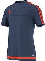 Adidas Tiro 15 Trainingstrikot Herren kurzarm night marine/solar red