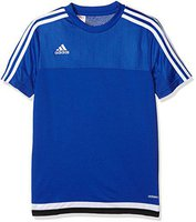 Adidas Tiro 15 Trainingstrikot Kinder kurzarm bold blue/white