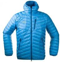 Bergans Slingsbytind Down Jacket W / Hood Bright Sea Blue / Deep Sea
