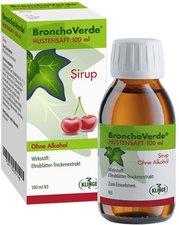 Sidroga BronchoVerde Hustensaft (100 ml)