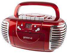 Groov-e GVPS813RD Retro Boombox