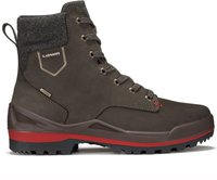 Lowa Oslo GTX Mid dark brown/red