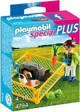 Playmobil Special Plus - Mädchen mit Meerschweinchen (4794)