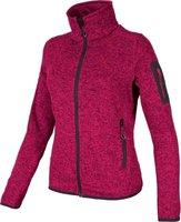 CMP Campagnolo Woman Fleece Jacket (3H14746) Scarlet-Antracite