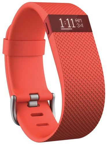 Fitbit Charge HR orangerot (S)
