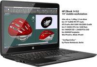 Hewlett Packard HP ZBook 14 G2 (J8Z76ET)