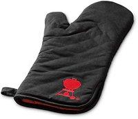 Weber Grillhandschuh schwarz mit rotem Kettle (6472)