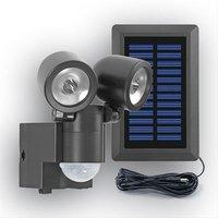 GEV Solar-LED Strahler Duo 130° LPL schwarz (858)
