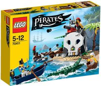 LEGO Pirates Piraten-Schatzinsel (70411)