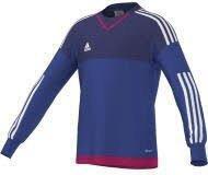 Adidas Top 15 Torwarttrikot Kinder bold blue/amazon purple/white/bold pink
