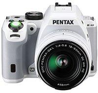 Pentax K-S2 Kit 18-50 mm + 50-200 mm weiß