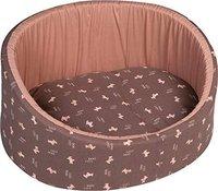 Flamingo Hundebett Dogcity oval