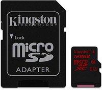Kingston microSDHC/microSDXC Class 10 UHS-I U3