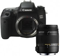Canon EOS 760D Kit 18-250 mm Sigma