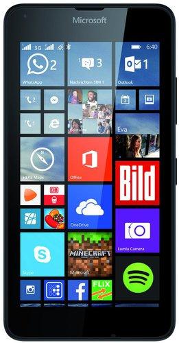 Microsoft Lumia 640 Dual SIM schwarz ohne Vertrag