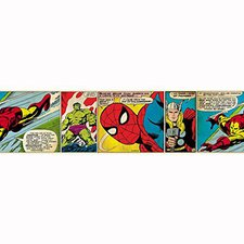 Graham & Brown Marvel Comic Strip Border