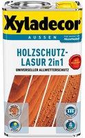 Xyladecor Holzschutzlasur 2in1 2,5 l Nussbaum