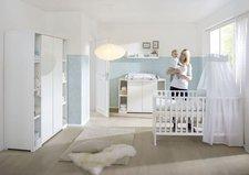 Schardt Kinderzimmer Maximo weiß (2-türig mit Seitenregalen)