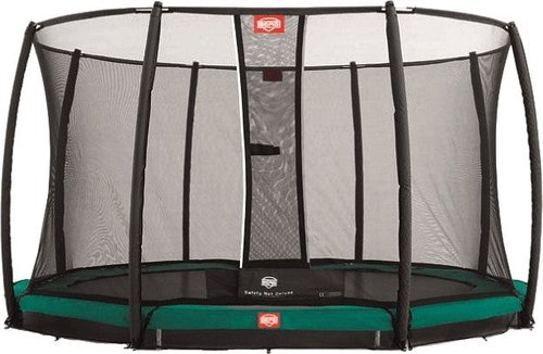 Berg Toys Trampolin InGround Champion 330 cm mit Sicherkeitsnetz Deluxe