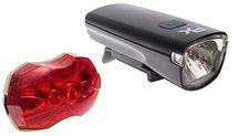 Raleigh RSP Icon Front / Rear Light Set Black