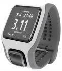 TomTom Runner Cardio GPS-Uhr weiß grau