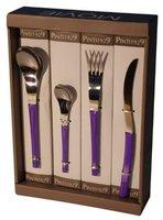 Pintinox Movie Besteckgarnitur 24 tlg. violett