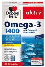 Doppelherz aktiv Omega-3 1300 Kapseln (30 Stk.)
