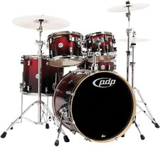 Pacific Drums & Percussion Concept Maple Red To Black (CM5)