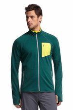 Icebreaker Men's Atom Long Sleeve Zip