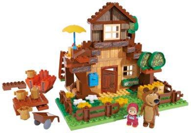 BIG Bloxx Mascha und der Bär - Mischas House