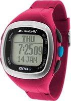 Runtastic GPS Uhr mit Brustgurt pink