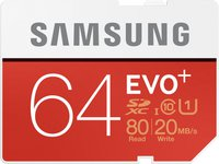 Samsung 64 GB SD EVO Plus (MB-SC64D)
