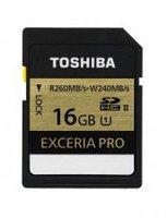 Toshiba Exceria Pro SD 16GB Class 10 UHS II U3 (THN-N101K0160E6)
