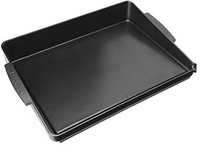 Cuisinart PBQ03E universal Grillplatte emalliert, schwarz