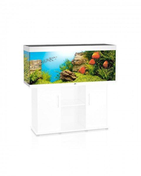 juwel aquarium rio 400 450 l wei preisvergleich ab 560 00. Black Bedroom Furniture Sets. Home Design Ideas