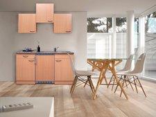 Respekta Küchenzeile 150cm Buche (KB150BB)
