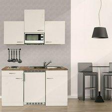Respekta Küchenzeile 150cm weiß (KB150WWMI)