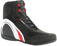 Dainese Motorshoe Air schwarz/weiß/rot