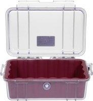 Peli 1050 Micro Case klar/rot