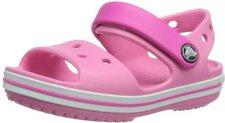 Crocs Crocband Sandal Kids pink lemonade/neon magenta
