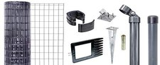 GAH Fix-Clip Pro Pantanet Basic Set mit Bodenhülse BxH: 25 x 1,00 m