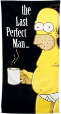 "United Labels Simpsons-Strandtuch  ""The Last Perfect Man "" (75x150 cm)"