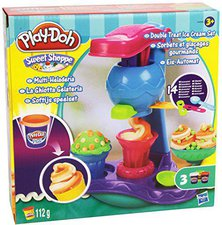 Play-Doh Double Twist Eiscreme Set