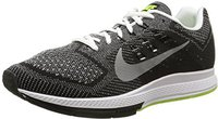 Nike Air Zoom Structure 18 white/black/volt/metallic silver